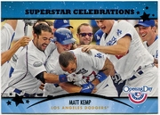 2013 Topps Opening Day Superstar Celebrations Matt Kemp Baseball Card