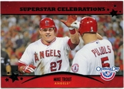 2013 Topps Opening Day Superstar Celebrations Mike Trout Baseball Card