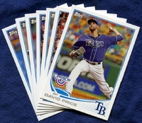 2013 Topps Opening Day Tampa Bay Rays Baseball Cards Team Set