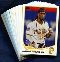 2013 Topps Update Pittsburgh Pirates Baseball Cards Team Set