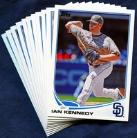 2013 Topps Update San Diego Padres Baseball Cards Team Set