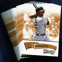 2014 Panini Classics Pittsburgh Pirates Baseball Card Team Set