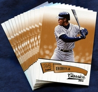 2014 Panini Classics Seattle Mariners Baseball Card Team Set