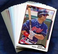 2014 Topps Cleveland Indians Baseball Cards Team Set
