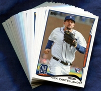 2014 Topps Detroit Tigers Baseball Cards Team Set