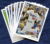 2014 Topps Opening Day Los Angeles Dodgers Baseball Cards Team Set