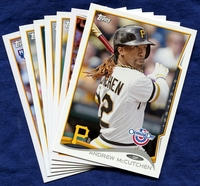 2014 Topps Opening Day Pittsburgh Pirates Baseball Cards Team Set