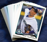 2014 Topps Seattle Mariners Baseball Cards Team Set