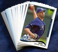 2014 Topps Tampa Bay Rays Baseball Cards Team Set