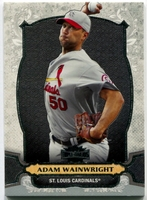 2014 Topps Triple Threads Adam Wainwright Baseball Card