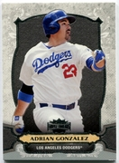 2014 Topps Triple Threads Adrian Gonzalez Baseball Card