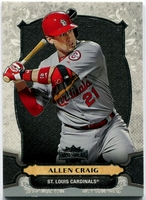 2014 Topps Triple Threads Allen Craig Baseball Card