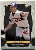 2014 Topps Triple Threads Chris Sale Baseball Card