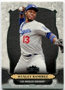 2014 Topps Triple Threads Hanley Ramirez Baseball Card