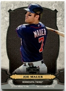 2014 Topps Triple Threads Joe Mauer Baseball Card