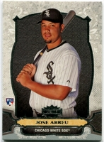 2014 Topps Triple Threads Jose Abreu Rookie Baseball Card
