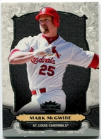 2014 Topps Triple Threads Mark McGwire Baseball Card