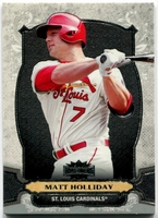 2014 Topps Triple Threads Matt Holliday Baseball Card