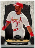 2014 Topps Triple Threads Ozzie Smith Baseball Card