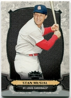 2014 Topps Triple Threads Stan Musial Baseball Card
