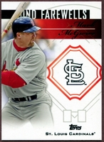 2014 Topps Update Fond Farewells #FFMM Mark McGwire Baseball Card