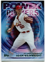 2014 Topps Update Power Players #PPAAW Adam Wainwright Baseball Card