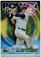 2014 Topps Update Power Players #PPAJE Jacoby Ellsbury Baseball Card