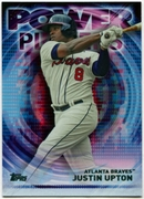 2014 Topps Update Power Players #PPAJU Justin Upton Baseball Card