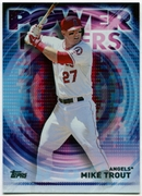 2014 Topps Update Power Players #PPAMTR Mike Trout Baseball Card
