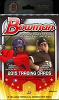 2015 Bowman Baseball Cards Hanger Box