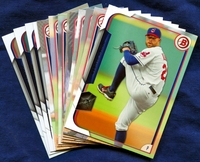 2015 Bowman & Prospects Cleveland Indians Baseball Card Team Set