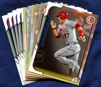 2015 Bowman & Prospects Los Angeles Angels of Anaheim Baseball Card Team Set