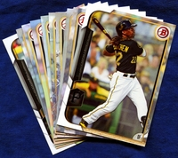 2015 Bowman & Prospects Pittsburgh Pirates Baseball Card Team Set