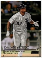 2015 Stadium Club Black #229 Dayan Viciedo Baseball Card