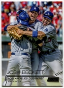 2015 Stadium Club Black #240 Josh Beckett Baseball Card