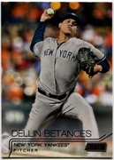 2015 Stadium Club Black #255 Dellin Betances Baseball Card