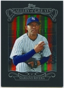 2015 Topps Gallery of Greats #GG19 Mariano Rivera Baseball Card