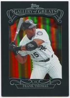 2015 Topps Gallery of Greats #GG2 Frank Thomas Baseball Card