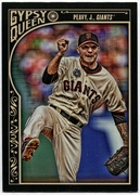 2015 Topps Gypsy Queen #218 Jake Peavy Baseball Card