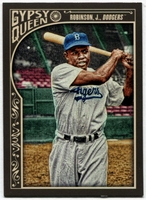 2015 Topps Gypsy Queen #301 Jackie Robinson SP Baseball Card