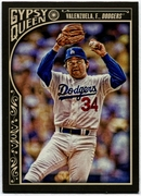 2015 Topps Gypsy Queen #323 Fernando Valenzuela SP Baseball Card