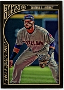 2015 Topps Gypsy Queen #90 Carlos Santana Baseball Card