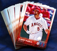 2015 Topps Los Angeles Angels of Anaheim Baseball Cards Team Set