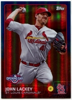 2015 Topps Opening Day Blue Foil #29 John Lackey Baseball Card