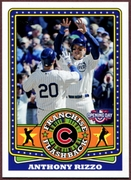 2015 Topps Opening Day Franchise Flashbacks #FF05 Anthony Rizzo Baseball Card
