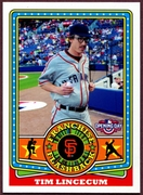 2015 Topps Opening Day Franchise Flashbacks #FF10 Tim Lincecum Baseball Card