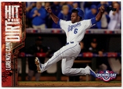 2015 Topps Opening Day Hit the Dirt #HTD02 Lorenzo Cain Baseball Card