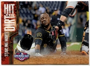 2015 Topps Opening Day Hit the Dirt #HTD11 Starling Marte Baseball Card