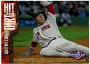 2015 Topps Opening Day Hit the Dirt #HTD15 Dustin Pedroia Baseball Card