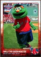 2015 Topps Opening Day Mascots #M04 Wally the Green Monster Baseball Card